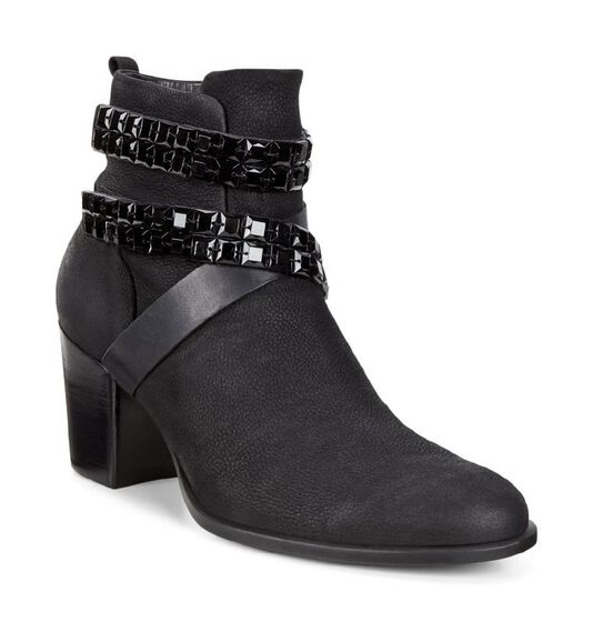 ECCO Womens Shape 55 Boot (BLACK/BLACK)
