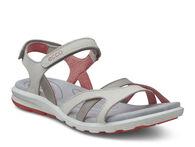 ECCO Womens Cruise Sandal (SHADOW WHITE/CORAL)