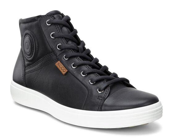 ECCO Mens Soft 7 Boot (BLACK)