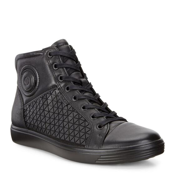 ECCO Soft 7 Ladies Boot (BLACK/BLACK)