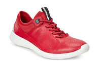 ECCO Soft 5 Sneaker (TOMATO/TOMATO-CONCRETE)