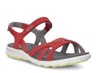 ECCO Womens Cruise SandalECCO Womens Cruise Sandal in CORAL BLUSH/CORAL BLUSH/WILD DOVE (59509)
