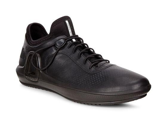 ECCO Womens Intrinsic 3 Sneaker (BLACK)