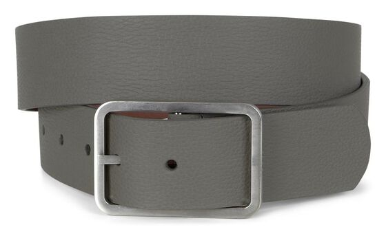 ECCO Hadley Men's Golf Belt (WARM GREY/FIRE)