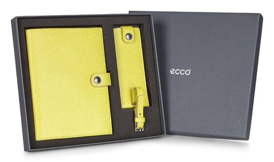 ECCO Iola Travel Gift Box (LEMON)