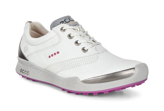 ECCO Womens BIOM Golf Hybrid (WHITE/CANDY)