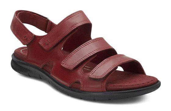 ECCO Babett Sandal 3 Strap (BRICK)