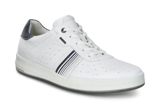 ECCO Mens Jack Sneaker (WHITE)