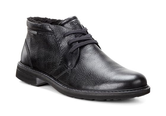 ECCO Mens Turn GTX Lace Boot (BLACK)