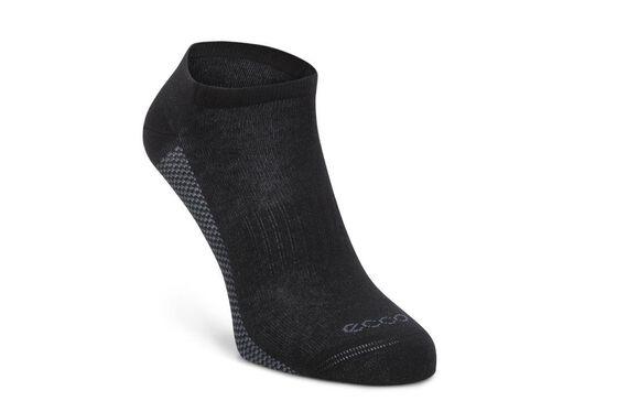 ECCO Cool Sneaker Sock (BLACK/TITANIUM)