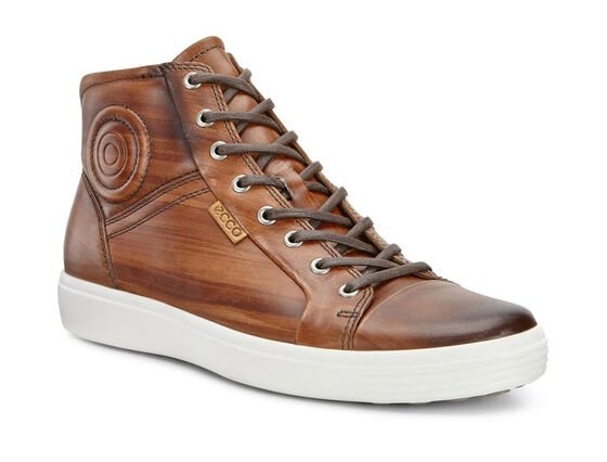 ECCO Mens Soft 7 Premium Boot (WHISKY)