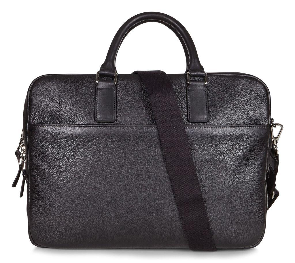 ECCO Jos Laptop Bag (BLACK)