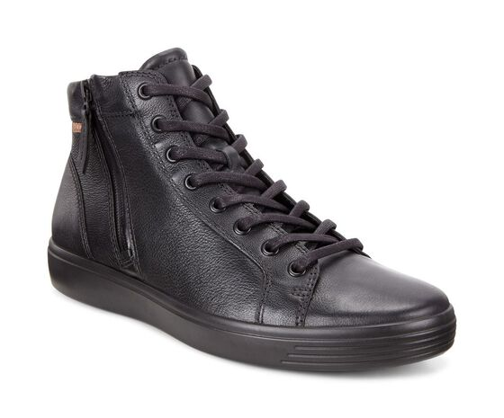 ECCO Soft 7 Men High Top (BLACK/LION)