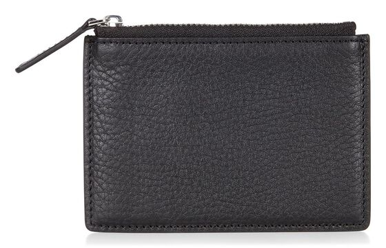 ECCO Eday L Zipped Card Case (BLACK)