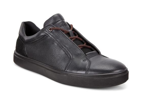 ECCO Kyle Street Sneaker (BLACK/BLACK)