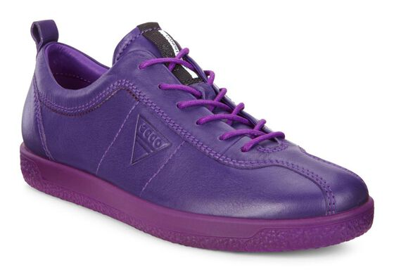 ECCO Womens Soft 1 Sneaker (CROWN JEWEL)
