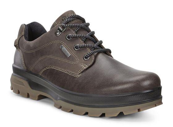ECCO Mens Rugged Track GTX Shoe (DARK CLAY/COFFEE)