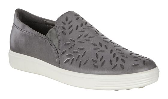 ECCO Womens Soft 7 Loafer (MAGNET)