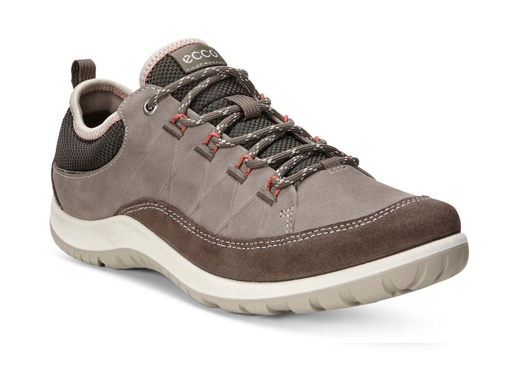 ECCO Womens Aspina ShoeECCO Womens Aspina Shoe DARK CLAY/WARM GREY (56610)  ...