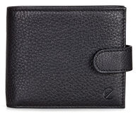 ECCO Jos Flap Wallet w tab (BLACK)