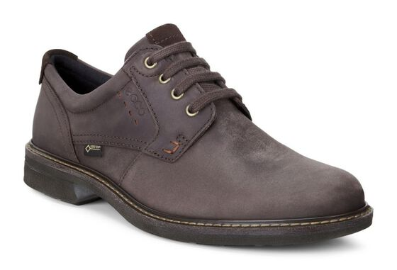 ECCO Turn GTX Plain Toe TieECCO Turn GTX Plain Toe Tie in MOCHA/MOCHA (58290)