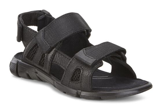 ECCO Kids Intrinsic Sandal (BLACK/BLACK)