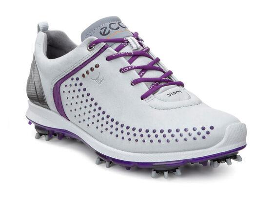 ECCO Womens Golf Biom G2 (CONCRETE/IMPERIAL PURPLE)