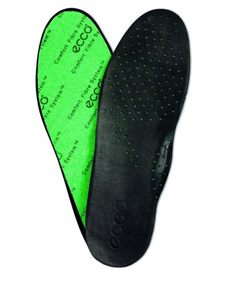 ECCO Men's Leather Insole (BLACK)