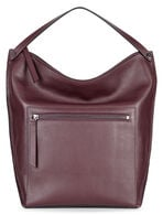 ECCO Sculptured Hobo Bag (RUBY WINE)