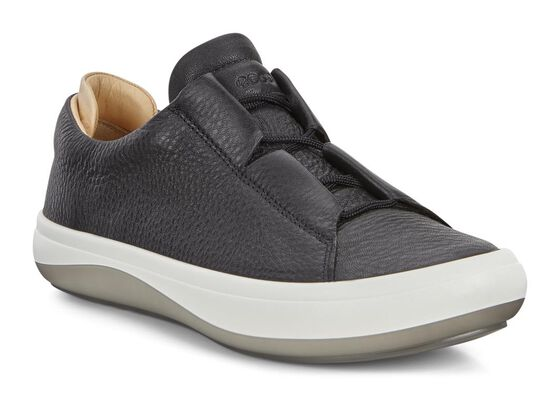 ECCO Womens Kinhin SneakerECCO Womens Kinhin Sneaker in BLACK/VEG TAN (50706)
