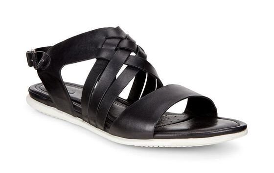 ECCO Touch Braided Sandal (BLACK)