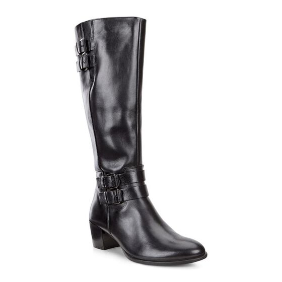 ECCO Womens Shape 35 Tall Boot (BLACK/BLACK)