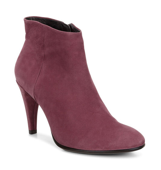 ECCO Womens Shape 75 Ankle Boot (BORDEAUX)
