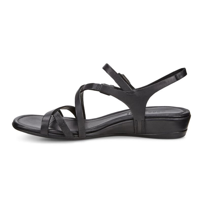 ... ECCO Womens Touch 25 S Strap SandalECCO Womens Touch 25 S Strap Sandal  BLACK/BLACK ...