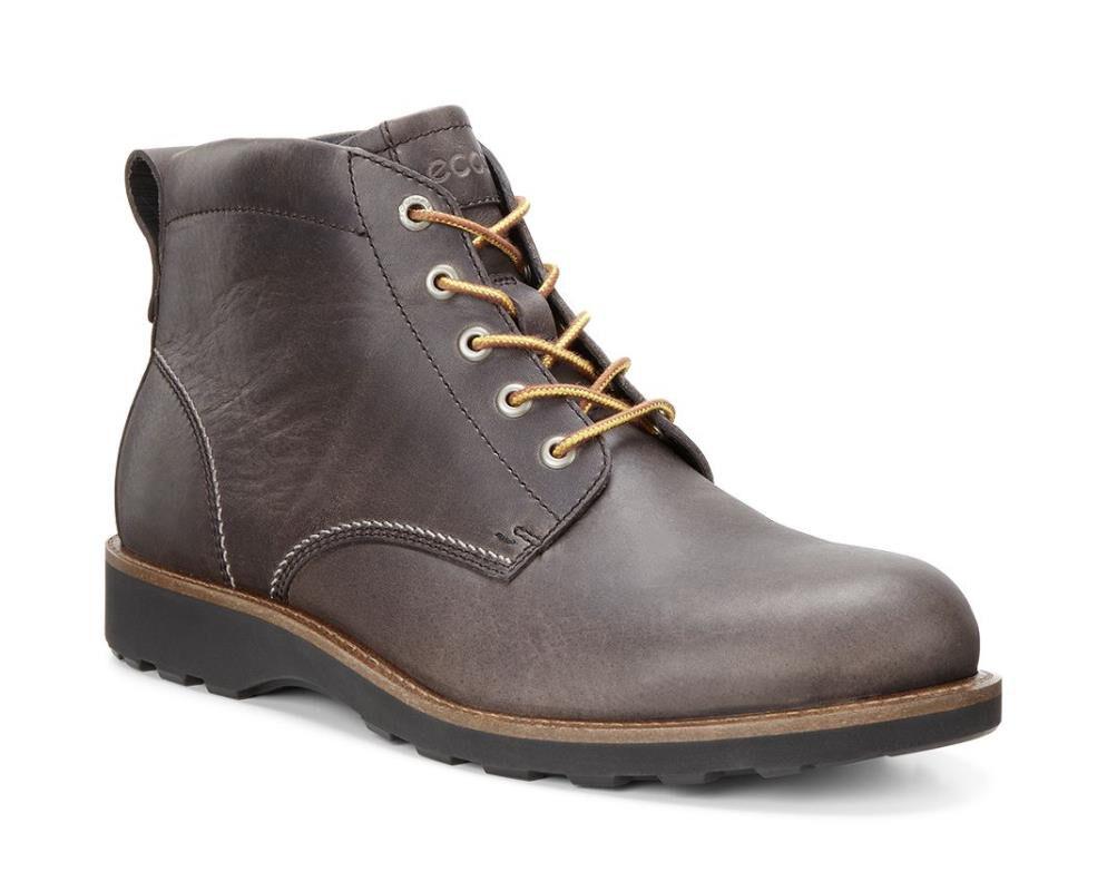 ECCO Holbrok Plain Toe BootECCO Holbrok Plain Toe Boot DARK CLAY (01559) ...
