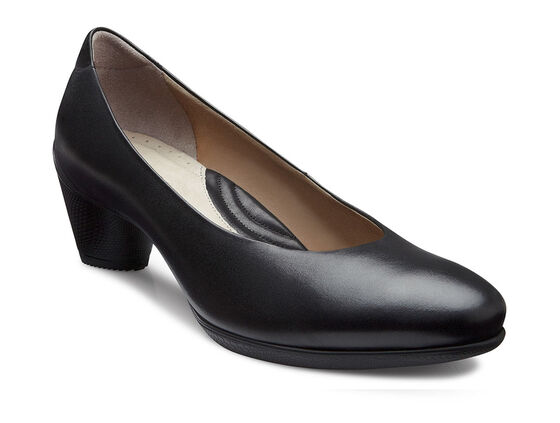 ECCO Sculptured 45 Plain Pump (BLACK)