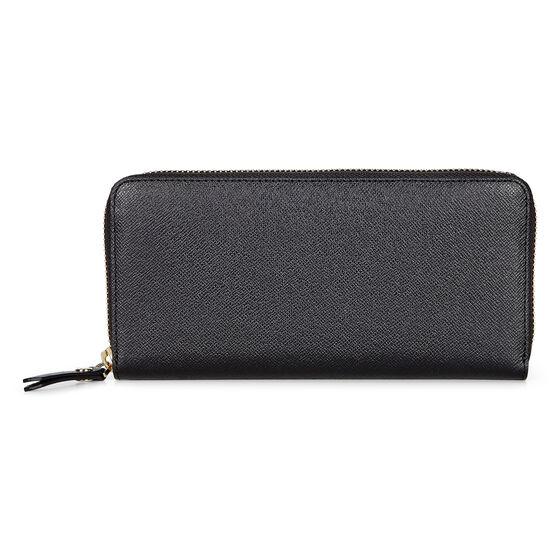 ECCO Iola Large Zip Wallet (BLACK)