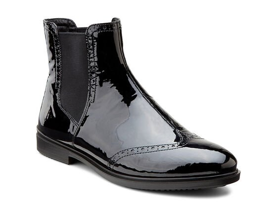ECCO Touch 15 Mid Cut Bootie (BLACK)