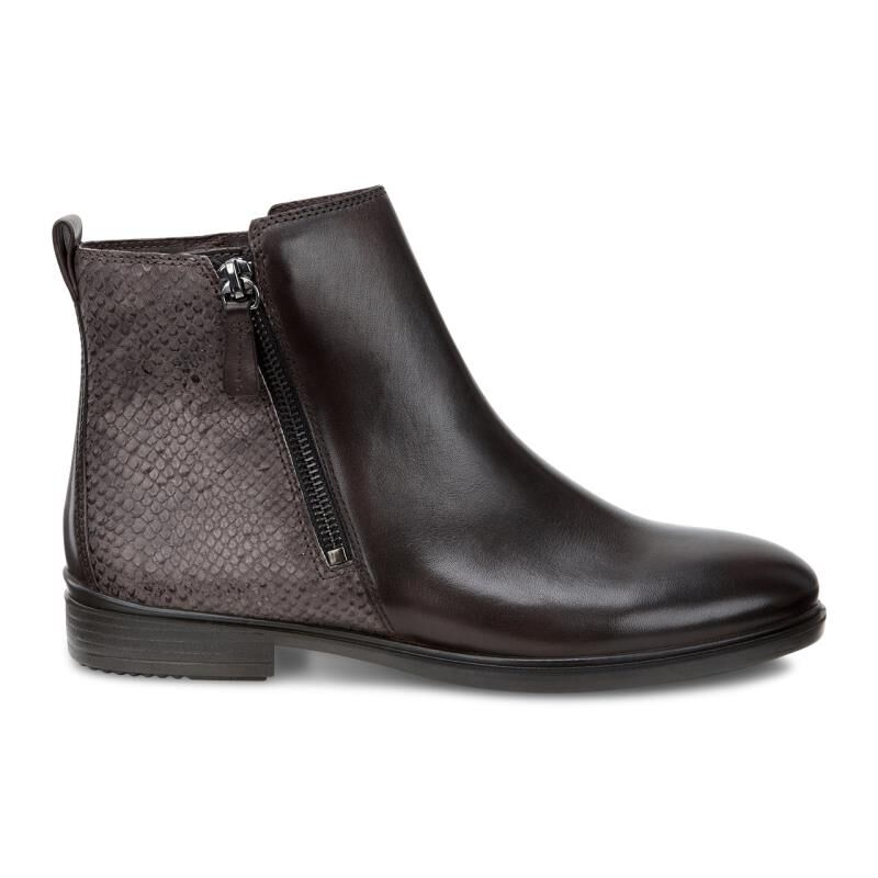 Ecco Touch 15 B, Women's Chelsea Ankle Boots, Coffee/Espresso