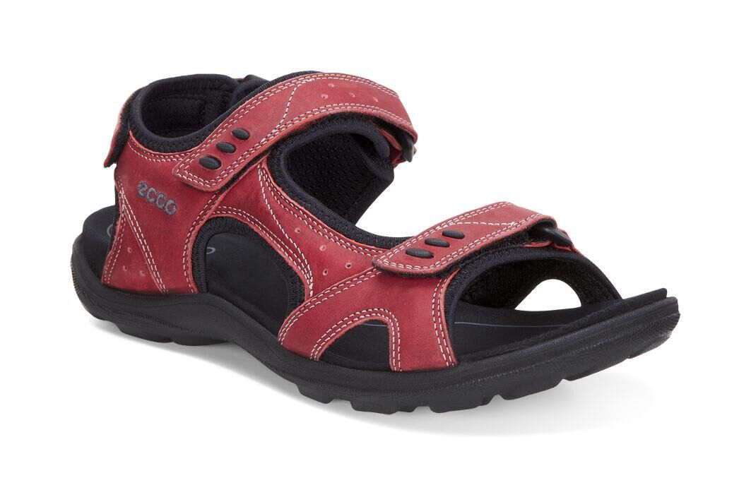 ECCO Womens Kana SandalECCO Womens Kana Sandal CHILI RED (02466) ...