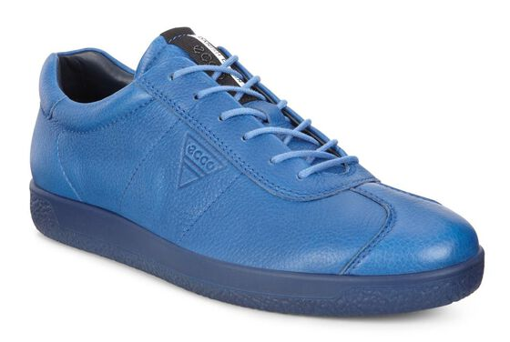 ECCO Mens Soft 1 SneakerECCO Mens Soft 1 Sneaker in COBALT (01131)