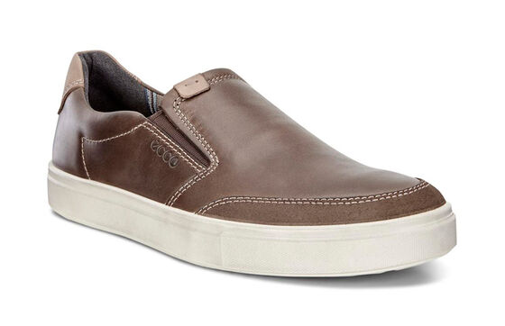 ECCO Kyle Slip On (DARK CLAY/DARK CLAY)