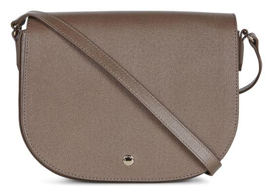 ECCO Iola Medium Saddle Bag (DARK CLAY)