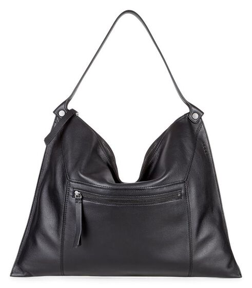 ECCO Sculptured Shoulder Bag 2 (BLACK)