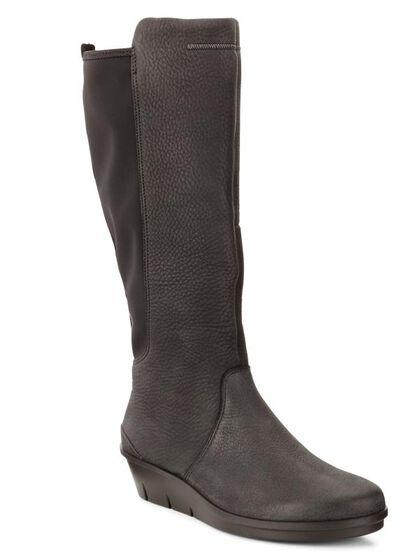 ECCO Skyler Tall Boot (BLACK/BLACK)