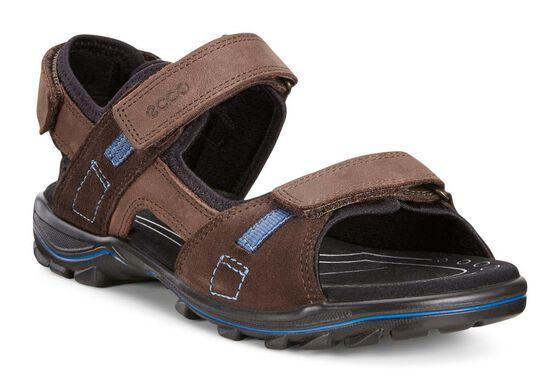 ECCO Urban Safari Sandal (COFFEE/MOCHA/BLACK)
