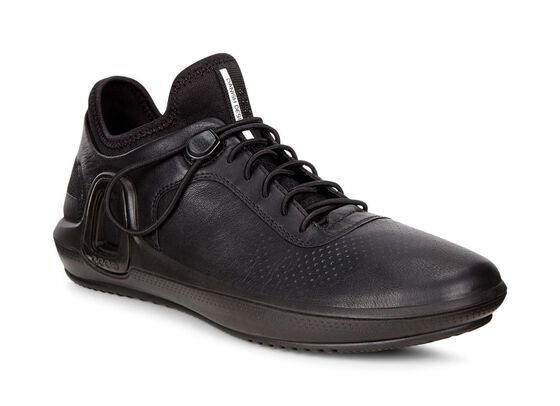 ECCO Womens Intrinsic 3 Sneaker (BLACK)