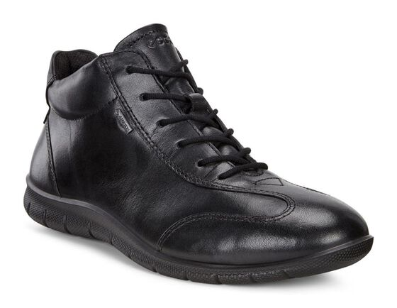 ECCO Womens Babett Lace Boot (BLACK)