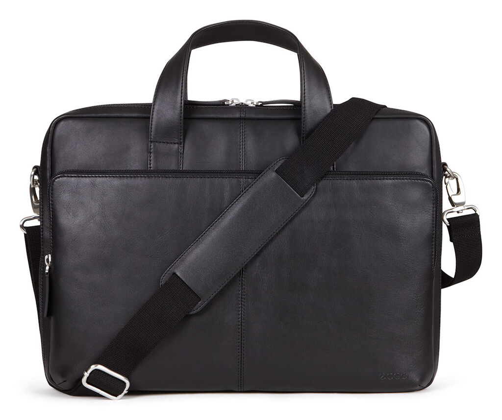 ECCO Foley Laptop Bag (BLACK)