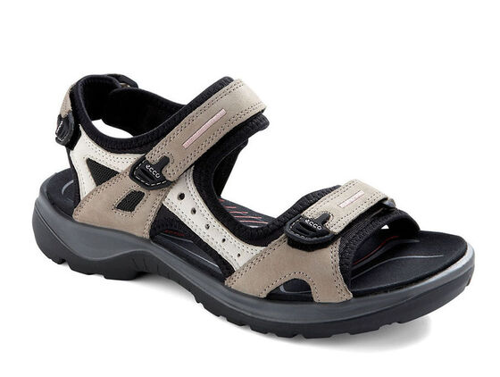 ECCO Womens Offroad Sandal (ATMOSPHERE/ICE W./BLACK)